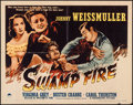 "Movie Posters:Adventure, Swamp Fire (Paramount, 1946). Half Sheet (22"" X 27.75"") Style A.Adventure.. ..."