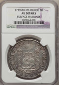 Mexico, Mexico: Philip V 8 Reales 1739 Mo-MF AU Details (Surface Hairlines)NGC,...
