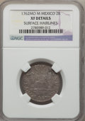 Mexico, Mexico: Charles III 2 Reales 1762 Mo-M XF Details (SurfaceHairlines) NGC,...