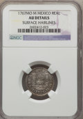 Mexico, Mexico: Charles III Real 1767 Mo-M AU Details (Surface Hairlines)NGC,...