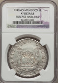 Mexico, Mexico: Philip V 8 Reales 1741 Mo-MF XF Details (Surface Hairlines)NGC,...