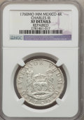 Mexico, Mexico: Charles III 4 Reales 1760 Mo-MM XF Details (Repaired)NGC,...