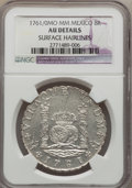 Mexico, Mexico: Charles III 8 Reales 1761/0 Mo-MM AU Details (SurfaceHairlines) NGC,...