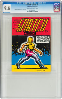 Snatch Comics #1 First Printing (Apex Novelties, 1968) CGC NM+ 9.6 Cream to off-white pages
