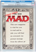 Magazines:Mad, MAD #24 (EC, 1955) CGC VF+ 8.5 Cream to off-white pages....