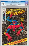 Bronze Age (1970-1979):Superhero, The Amazing Spider-Man #100 (Marvel, 1971) CGC NM/MT 9.8 Whitepages....
