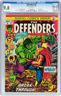 Bronze Age (1970-1979):Superhero, The Defenders #10 (Marvel, 1973) CGC NM/MT 9.8 White pages....
