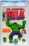 Silver Age (1956-1969):Superhero, The Incredible Hulk #116 (Marvel, 1969) CGC NM/MT 9.8 Off-white pages....