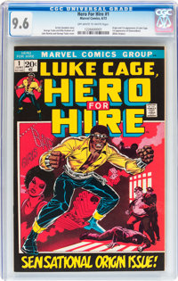 Hero for Hire #1 (Marvel, 1972) CGC NM+ 9.6 Off-white to white pages