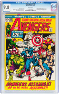 Bronze Age (1970-1979):Superhero, The Avengers #100 (Marvel, 1972) CGC NM/MT 9.8 White pages....