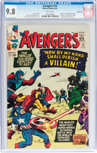 The Avengers #15 Northland pedigree (Marvel, 1965) CGC NM/MT 9.8 White pages