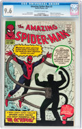 Silver Age (1956-1969):Superhero, The Amazing Spider-Man #3 (Marvel, 1963) CGC NM+ 9.6 Off-white towhite pages....