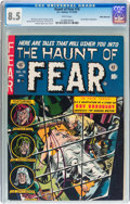 Golden Age (1938-1955):Horror, Haunt of Fear #16 White Mountain pedigree (EC, 1952) CGC VF+ 8.5White pages....