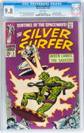 Silver Age (1956-1969):Superhero, The Silver Surfer #2 (Marvel, 1968) CGC NM/MT 9.8 White pages....