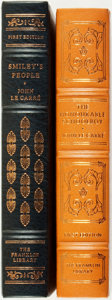 Books:Fine Bindings & Library Sets, [Fine Binding & Library Sets]. John Le Carré. Pair of Titles. Includes: The Honourable Schoolboy. [and:] Smi... (Total: 2 Items)