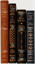 Books:Fine Bindings & Library Sets, [Fine Binding & Library Sets]. [American History]. Group of Four Books, One of Which is SIGNED. The Franklin Library, [vario... (Total: 4 Items)