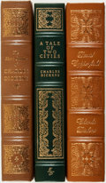 Books:Fine Bindings & Library Sets, [Fine Binding & Library Sets]. Charles Dickens. Trio of Titles. The Easton Press, [various dates].... (Total: 3 Items)