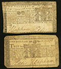 Colonial Notes:Maryland, Maryland April 10, 1774.. ... (Total: 2 notes)