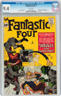Silver Age (1956-1969):Superhero, Fantastic Four #2 (Marvel, 1962) CGC NM 9.4 White pages....