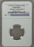 Mexico, Mexico: Charles III Real 1764 Mo-M XF Details (Surface Hairlines)NGC,...