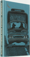 Books:Fine Press & Book Arts, [Fine Press]. John Steinbeck. Travels with Charley in Search of America. London: The Folio Society, [2005]....