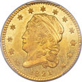Early Quarter Eagles, 1821 $2 1/2 BD-1, R.5, MS62 PCGS Secure....