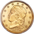 Early Quarter Eagles, 1830 $2 1/2 BD-1, R.4, MS64 PCGS Secure....