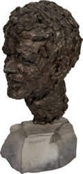 Political:3D & Other Display (1896-present), Robert F. Kennedy: Large Bronze Bust....