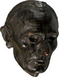 Political:3D & Other Display (pre-1896), Abraham Lincoln: Life Mask by Leonard W. Volk....