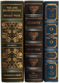 Books:Fine Bindings & Library Sets, [Fine Binding & Library Sets]. Trio of Titles. Franklin Center: The Franklin Library, [various dates].... (Total: 3 Items)