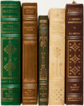 Books:Fine Bindings & Library Sets, [Fine Binding & Library Sets]. Group of Five Books. Franklin Center: The Franklin Library, [various dates].... (Total: 5 Items)