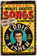 Golden Age (1938-1955):Miscellaneous, World's Greatest Songs #1 (Atlas, 1954) Condition: Apparent GD....