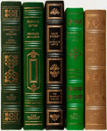Books:Fine Bindings & Library Sets, [Fine Binding & Library Sets]. Group of Five Books. Various publishers and dates.... (Total: 5 Items)