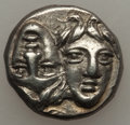 Ancients:Greek, Ancients: THRACE. Istrus. Ca. 4th century BC. AR drachm (4.61gm)....