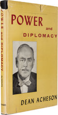 Books:Signed Editions, John F. Kennedy and Dean Acheson: JFK's Signed Personal Copy ofAcheson's Book Power and Diplomacy, with Extensive Notations i...