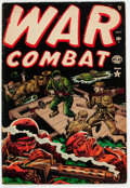 Golden Age (1938-1955):War, War Combat #3 (Atlas, 1952) Condition: FN-....