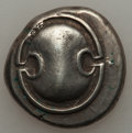 Ancients:Greek, Ancients: BOEOTIA. Thebes. Ca. 395-338 BC. AR stater (11.93 gm)....