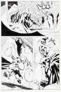 "Original Comic Art:Panel Pages, Jim Lee and Scott Williams Batman #613 ""Hush Chapter Six: The Opera"" Page 15 Harley Quinn Original Art (DC, 2003)...."