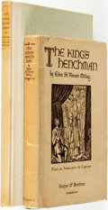 Books:Literature 1900-up, Edna St. Vincent Millay. SIGNED. The King's Henchman. A Play inThree Acts. New York and London: Harper & Brothers, ...(Total: 2 Items)