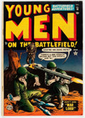 Golden Age (1938-1955):War, Young Men #18 (Atlas, 1952) Condition: VG/FN....