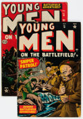 Golden Age (1938-1955):War, Young Men #16 and 19 Group (Atlas, 1952-53) Condition: AverageVG.... (Total: 2 Comic Books)