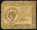 Colonial Notes:Continental Congress Issues, Continental Currency September 26, 1778 $8 Very Good.. ...
