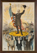 Political:Posters & Broadsides (1896-present), William McKinley: One of the Finest and Most Sought-after of all Political Posters....