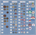 Political:Pinback Buttons (1896-present), William McKinley et al: Type Set Collection....