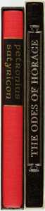 Books:Literature Pre-1900, [Folio Society]. [Heritage Press]. Pair of Classic Greek Titles.Various publishers and dates.... (Total: 2 Items)