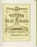 Books:Natural History Books & Prints, Jacob H. Studer, editor. LIMITED. Studer's Popular Ornithology: The Birds of North America. Barre: Imprint Socie...