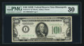 Small Size:Federal Reserve Notes, Fr. 2154-I* $100 1934B Federal Reserve Note. PMG Very Fine 30.. ...