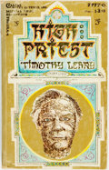 Books:Metaphysical & Occult, [Featured Lot]. Timothy Leary. INSCRIBED. High Priest. [NewYork:] College Notes & Texts, Inc., [1968]. . ...