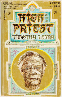 [Featured Lot]. Timothy Leary. INSCRIBED. High Priest. [New York:] Colleg