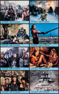 """Movie Posters:Action, Conan the Barbarian (Universal, 1982). Mini Lobby Card Set of 8 and Photos (21) (8"""" X 10""""). Action.. ... (Total: 29 Items)"""